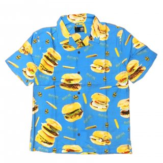 MxMxM MAGICAL BURGER ALOHA SHIRT