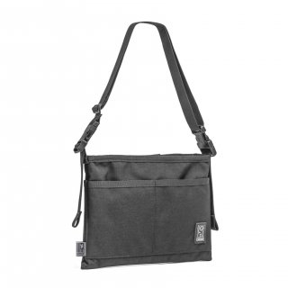 CHROME MINI SHOULDER BAG [ BLACK]