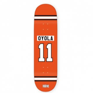 TRAFFIC  BENCHWARMERS OYOLA DECK (8.25)