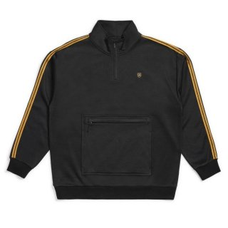 BRIXTON  B-Shiel � 1/2 Zip  / BLACK