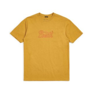 BRIXTON  Stith VI  S/S Tee   / MAIZE