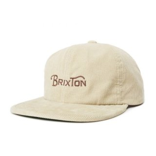BRIXTON Wheelie Mp CAP /VANIL
