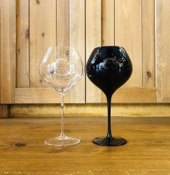 ロガスカ / ラディコングラス2脚&ワイン2本セット Normale & Nero