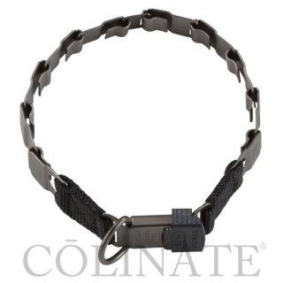 <エルゴノミクス 首輪>デザインカラー/Black Stainless【ドイツ製】