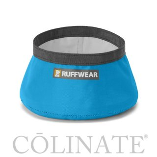 【犬用 水飲みボウル・コンパクト(折りたたみ)】正規品 RUFFWEAR(ラフウェア)