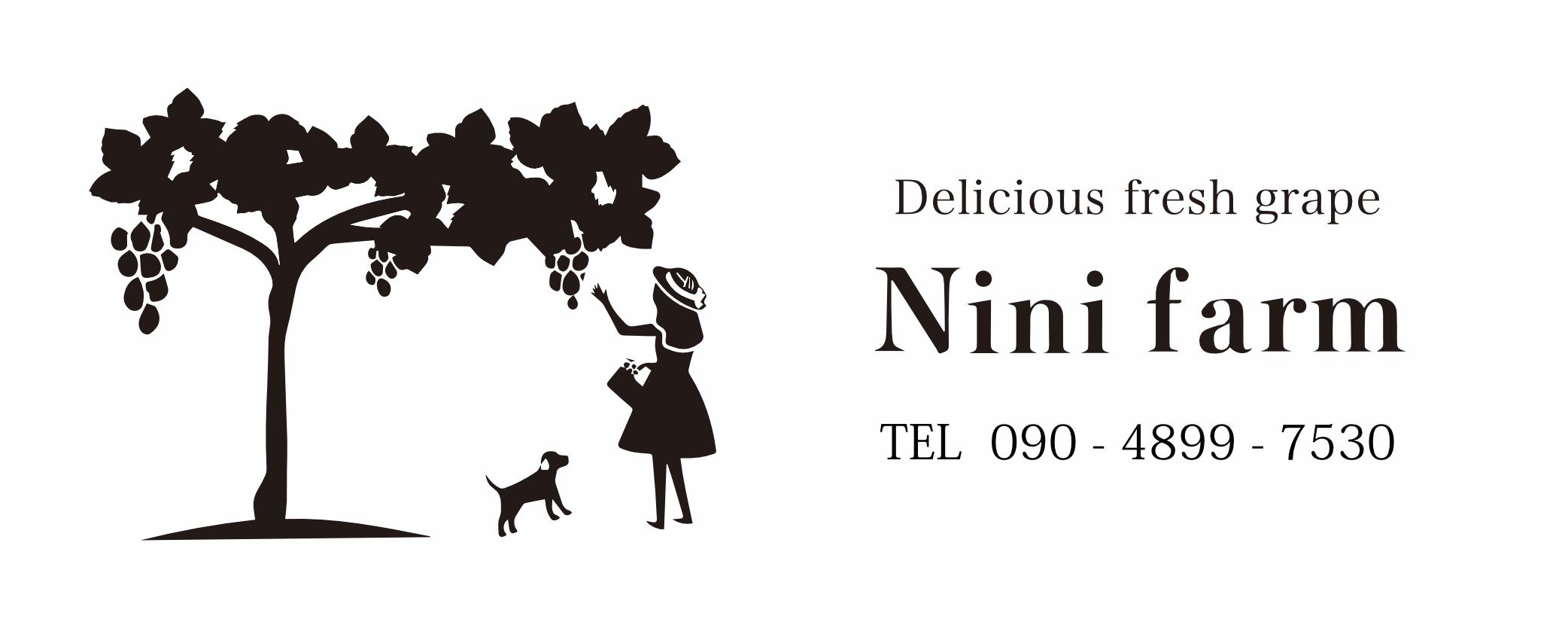 ぶどう農園 Nini farm オンラインショップ