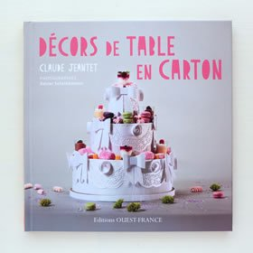 Decors de table en carton