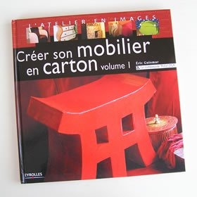 Creer son mobilier en carton
