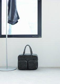 和紙のオーバーナイトバッグ