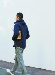 和紙のクラッチバッグ L