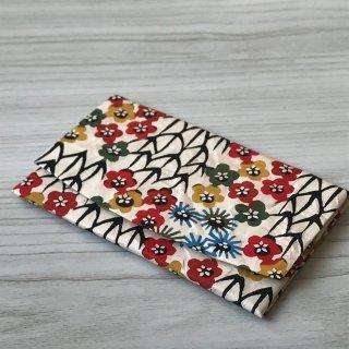 型染紙のカードケース(松竹梅)