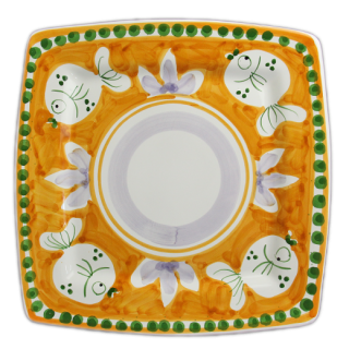 <img class='new_mark_img1' src='https://img.shop-pro.jp/img/new/icons14.gif' style='border:none;display:inline;margin:0px;padding:0px;width:auto;' />Dinner plate -魚A-(オレンジ)