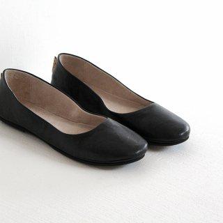 fs/ny エフエススラッシュエヌワイ バレエシューズ  sloop Stropicciato black(ブラック) レディース