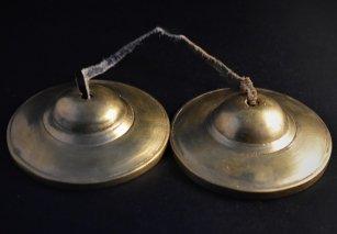 ティンシャ【無地】/ブロンズカラー/チベット密教法具