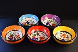 キュタフヤ陶器ミレニアムボウル【Φ:8cm】/トルコ雑貨