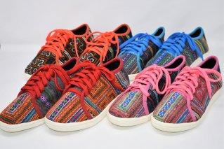モン族刺繍スニーカー【Size:22.5~24.5cm】/エスニックファッション/民族アイテム