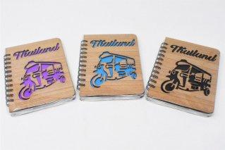日記帳【トゥクトゥク】リングノート型/タイ雑貨/diary/Thailand