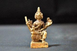 ブラフマー神像【真鍮製】/仏像・神像/ヒンドゥー教/インド神話