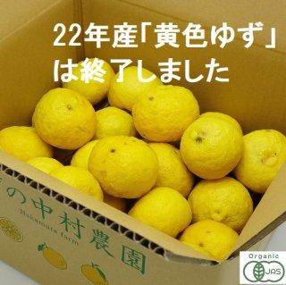 有機JAS 黄色柚子 -2020年産-3キロ