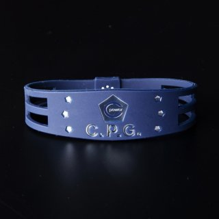 CPG bracelet New model 2019 Metal Edition Men's(Navy×Silver)
