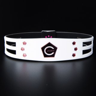 CPG bracelet New model 2019 Metal Edition Ladies(White×Pink)