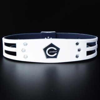 CPG bracelet New model 2019 Metal Edition Ladies(White×Silver)