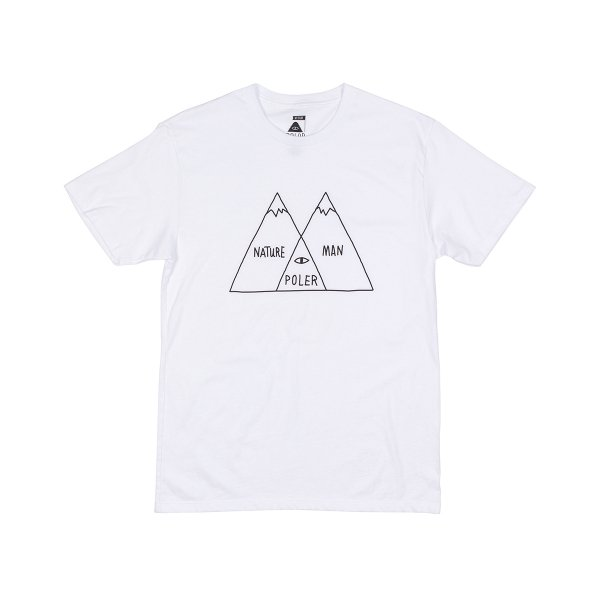 VENN DIAGRAM TEE - White / Black