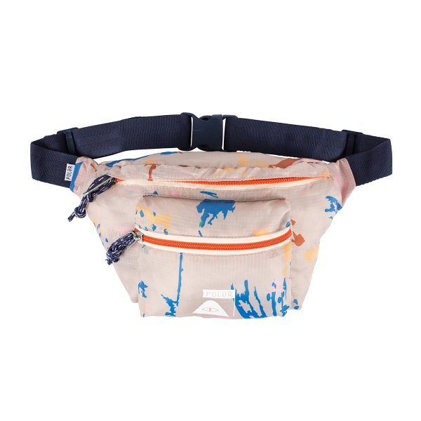 STUFFABLE FANNY PACK - KHAKI SPLATTER PRINT