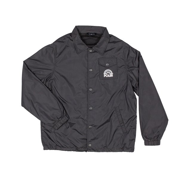 MTN. RAINBOW COACHES JACKET - BLACK