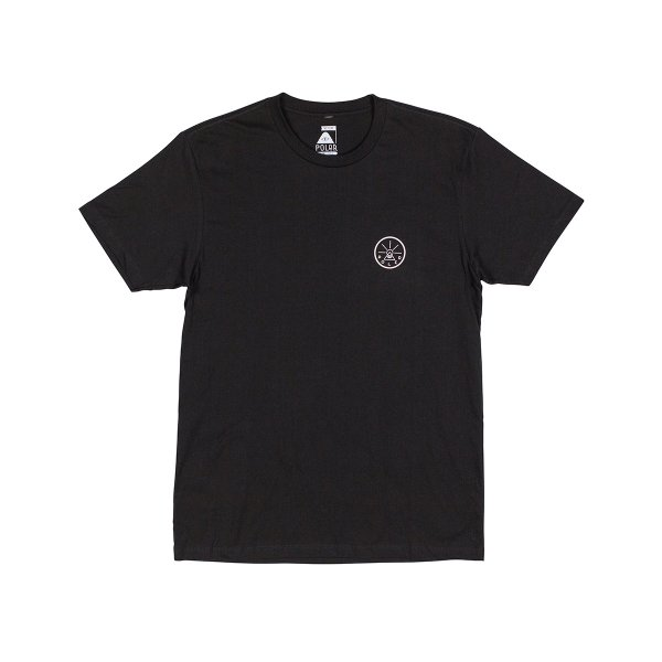 GOLDEN CIRCLE TEE - BLACK