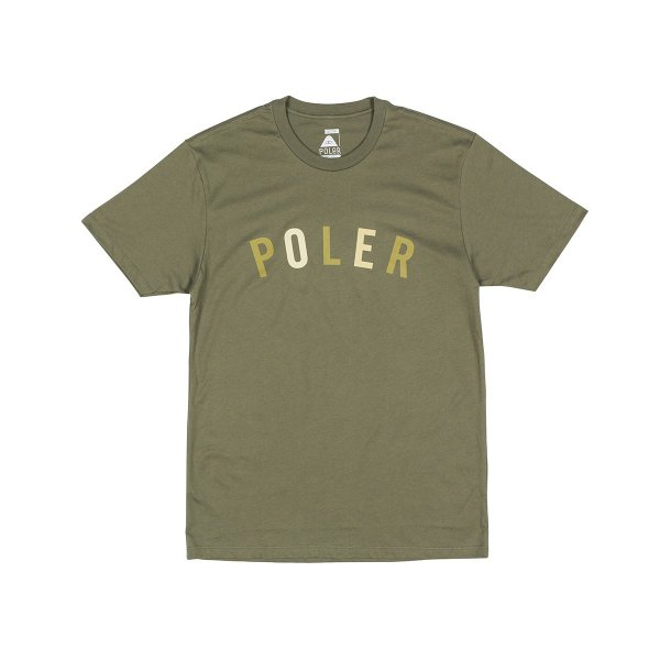 STATE GRADIENT TEE - OLIVE