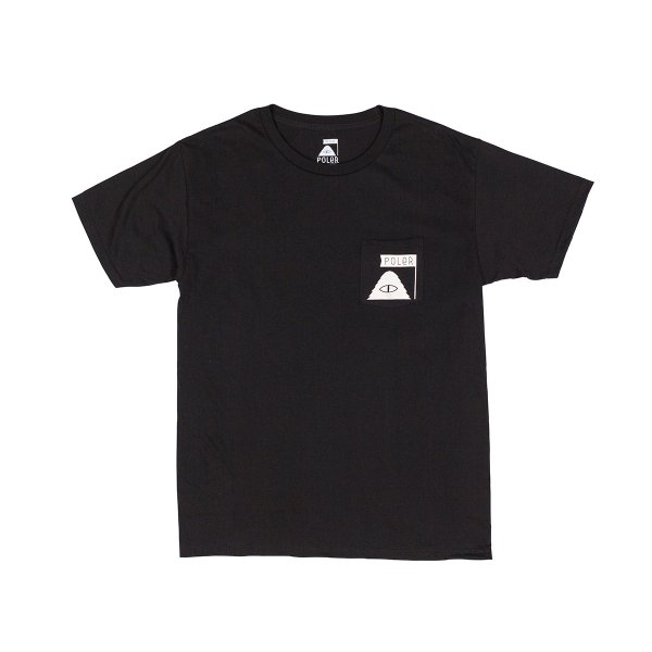 SUMMIT POCKET TEE - BLACK