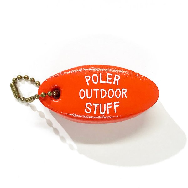 FLOATY KEYCHAIN - BURNT ORANGE
