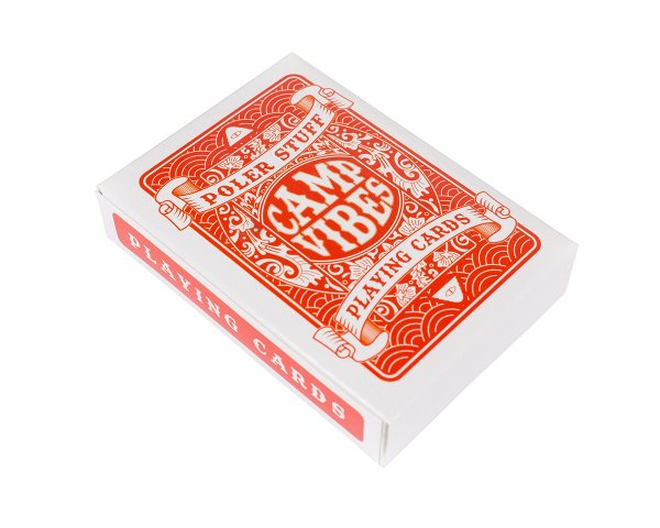 POLKER PLAYING CARDS - ORANGE