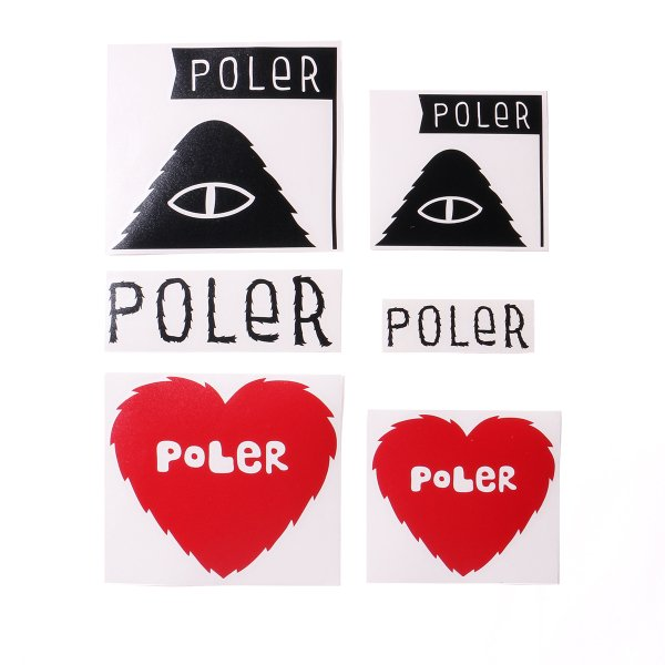 POLER DIE-CUT STICKER SET