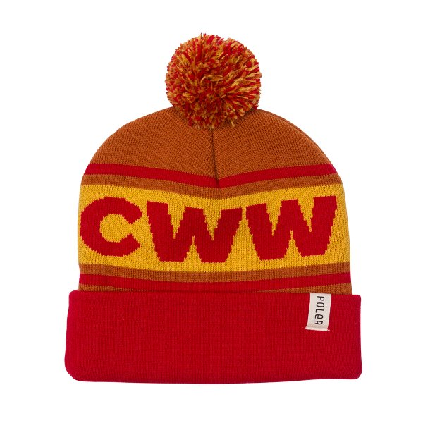 <img class='new_mark_img1' src='https://img.shop-pro.jp/img/new/icons16.gif' style='border:none;display:inline;margin:0px;padding:0px;width:auto;' />CWW BEANIE - RED