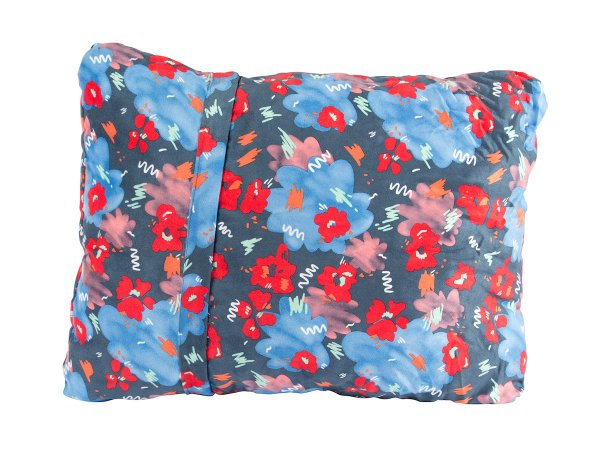 POLeR×THERMAREST NOD COMPRESSIBLE PILLOW -BLUE STEEL FLORAL