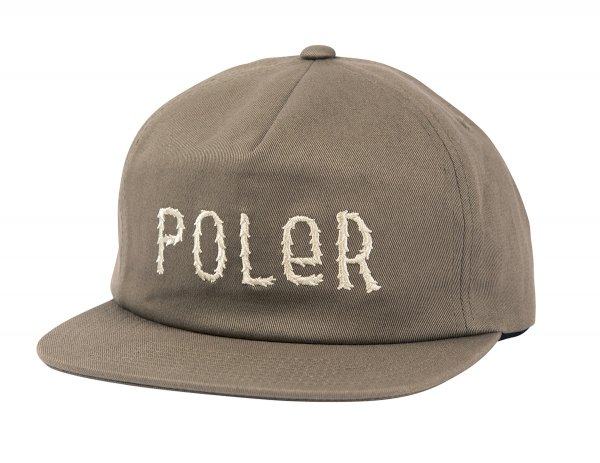 FURRY FONT SNAPBACK -BURNT OLIVE