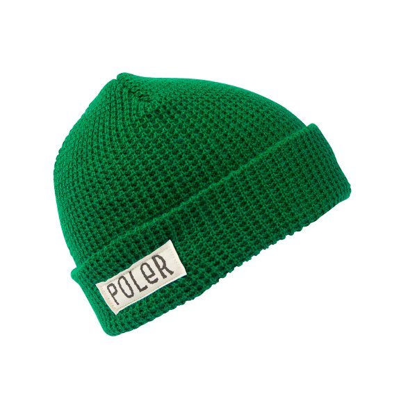 WORKERMAN BEANIE - KELLY GREEN