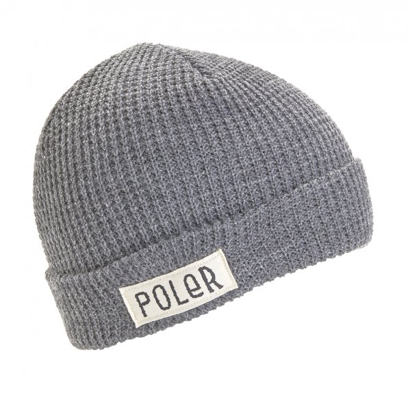 WORKERMAN BEANIE - LIGHT GRAY HEATHER