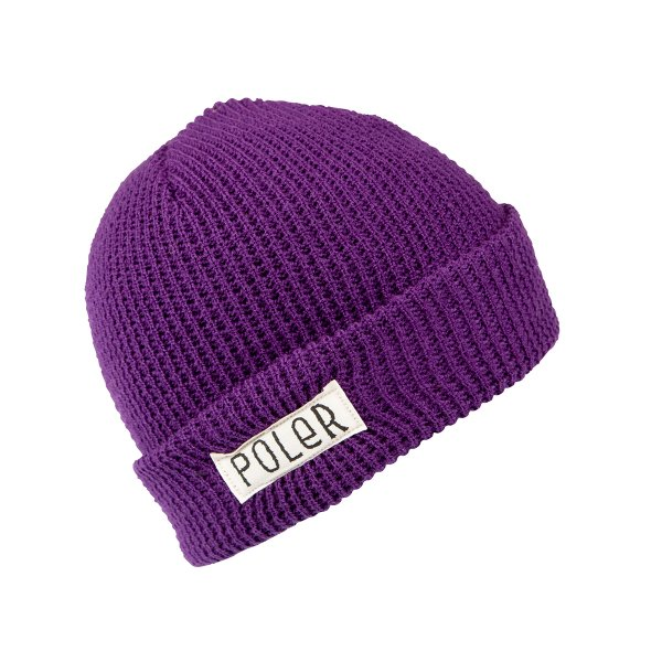 WORKERMAN BEANIE - PURPLE