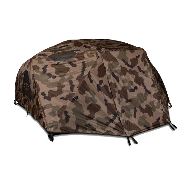 TWO MAN TENT - OLIVE FURRY CAMO
