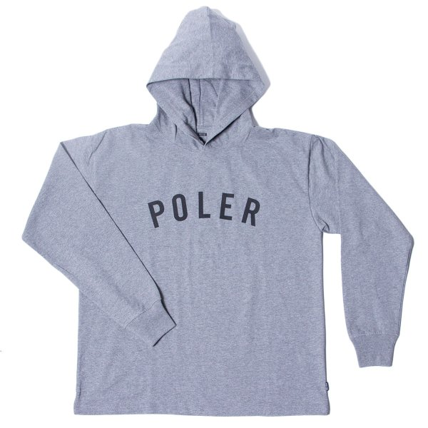 90'S STATE JERSEY HOODIE - GRAY HEATHER