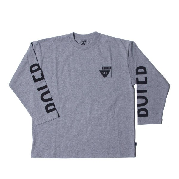 REVERSE SUMMIT-RELOP JERSEY  L/S TEE - GRAY HEATHER