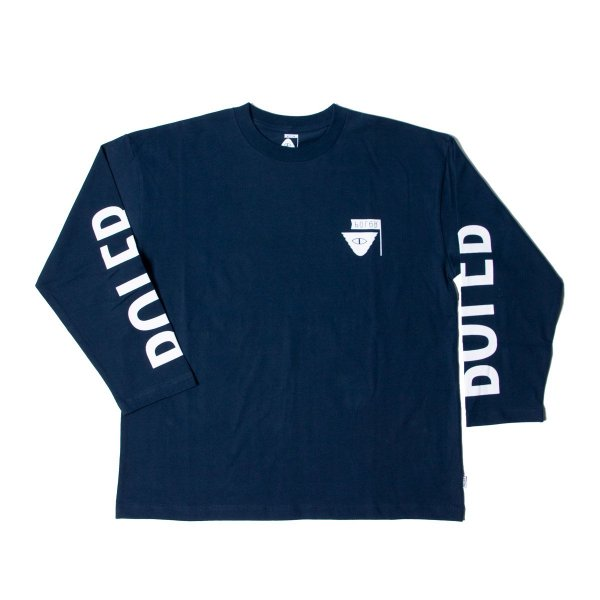 REVERSE SUMMIT-RELOP JERSEY  L/S TEE - NAVY