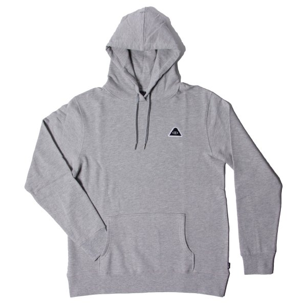 EYE PATCH HOODIE  - GRAY HEATHER
