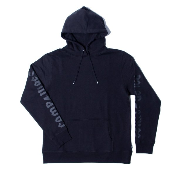THUNDER FLASH HOODIE  - BLACK