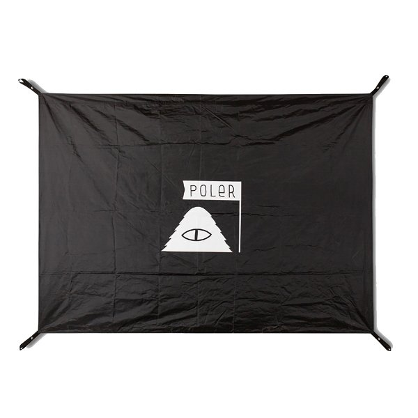 GROUND SHEET - BLACK