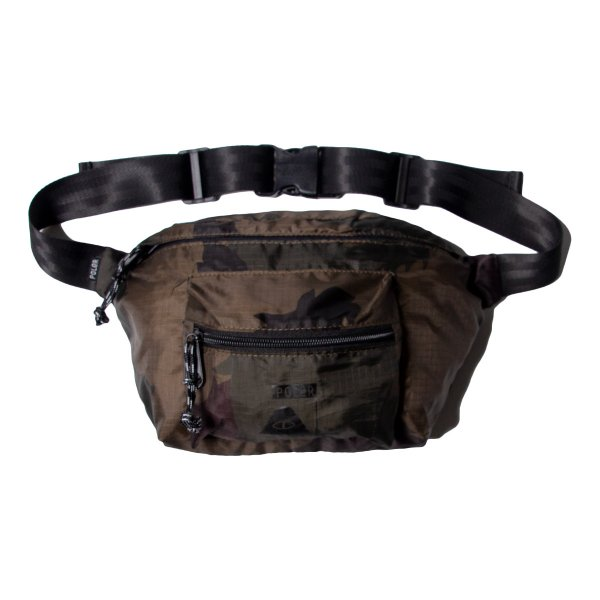 STUFFABLE FANNY PACK - OLIVE FURRY CAMO