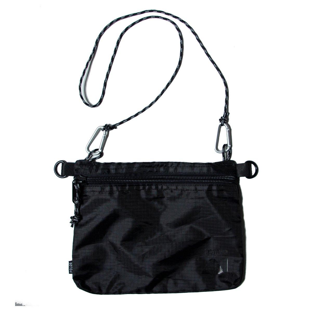 campdura stuffable pouch large black poler ポーラー公式通販